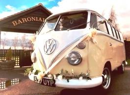 1962 Campervan for weddings in Chelmsford
